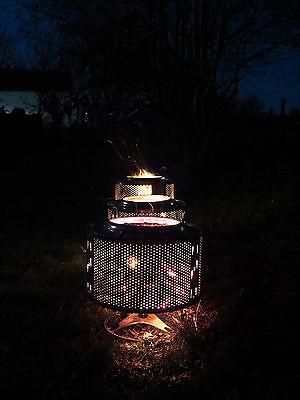 Waschmaschinentrommel als Eventbeleuchtung, Feuerstelle, Outdoorheizung, Grill 2