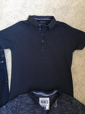 Next Boys Jeans & 2 Polo Tops Age 10 Years 4