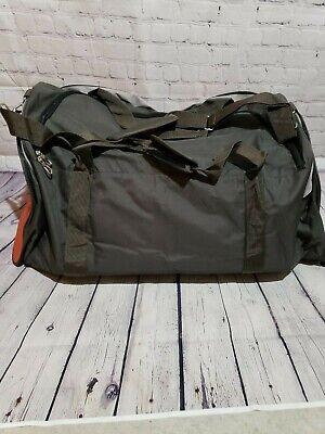 WFS Travel Bag Olive/Red Brick 7