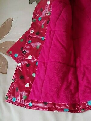 Baby GAP Girl's Red Spotted Raincoat - SIZE 3yrs 5