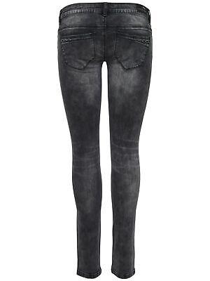 Da Donna Skinny a sigaretta stretch anca Jeans blu pantaloni slim fit jeans a sigaretta hüftjeans