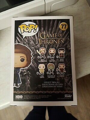 Funko Pop Missandei Game of Thrones #77 2019 NYCC Exclusive Official Sticker New 3