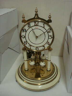 """Day clock 400 Days """" Anniversary """" Complete whit Glass for parts or repair 11"""