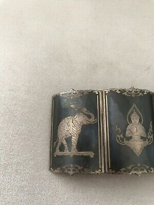 Siam Silver Antique Bracelet 4