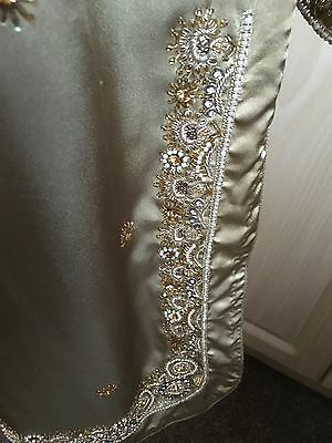 Ladies Shalwar Kameez - Gold - Size Small 3