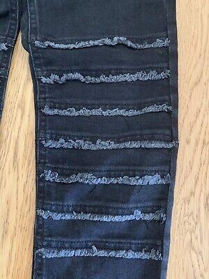 Zara Kids Boys Jeans Size 11/12 Years 152cm Black Skinny 3