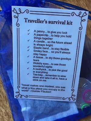 TRAVELLER'S Survival Kit(fun novelty gift) 2