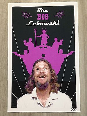 THE BIG LEBOWSKI MOVIE POSTER RARE NEW 24X36 PRINT