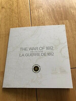 Canada War Of 1812 Coins Set  In Royal Canadian Mint Album 2