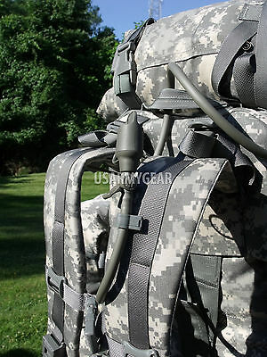 $259 Fully Loaded Molle ACU Medium Rucksack Military Backpack Hydration Pouches 10