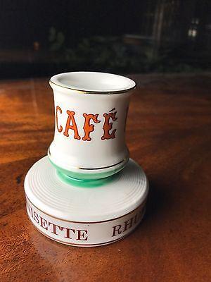 Cafe Paris French Absinthe Match Striker Holder Porcelain French Pyrogene 5