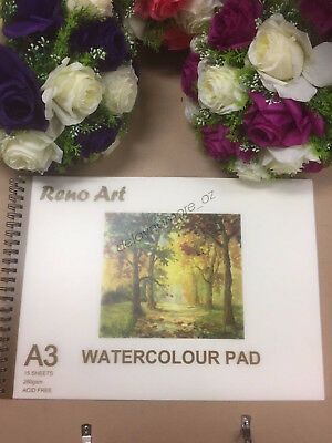 A3 Watercolour Pad 280gsm Atrist Painting Art Paper Sketchbook Sketch Drawing 3