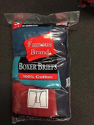 Fruit Of The Loom  9 Pk Boxer Briefs-Men In Famous Brand All-Asst 8