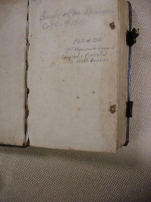 Mennonite Hymnbook- The children of Zion (German) - 1803 - Billmeyer