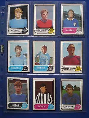 A&BC - Footballers 1969/70 - Bubblegum Cards * Choose The One's You Need * 5