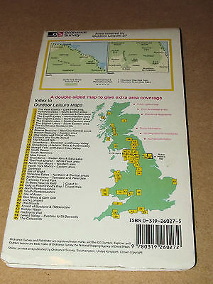 North York Moors: Eastern Area by Ordnance Survey (Sheet map, folded, 1986) 6