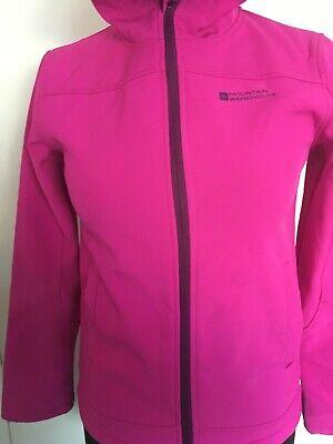 Girls Mountain Warehouse Pink & Purple Jacket Coat 11-12 Years 3