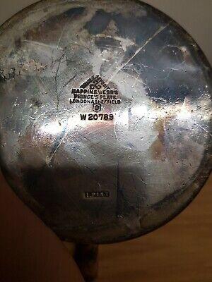 Mappin & Webb Art Deco Silver Plate 1.Pint Teapot 5