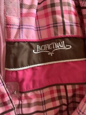 Girls Jacket Pacifictrail Pink Padded. Detatchable Hood Aged 4-5 2