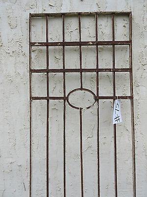 Antique Victorian Iron Gate Window Garden Fence Architectural Salvage Door #75 3