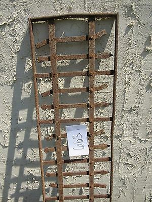 Antique Victorian Iron Gate Window Garden Fence Architectural Salvage Door #663 3
