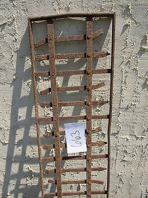 Antique Victorian Iron Gate Window Garden Fence Architectural Salvage Door #663 3