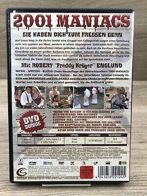 FSK18 DVD • 2001 Maniacs - Sie haben dich zum Fressen gern #K68 2
