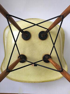 All original 1. Generation Zenith Rope Edge Eames Herman Miller Fiberglass Chair 10