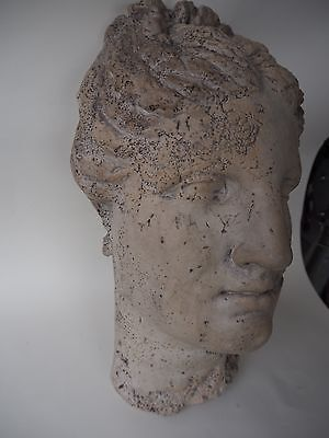 EARLY 1900s ROMAN BUST OR GREEK GODDESS NY MUSEUM REPRODUCTION NATURAL HISTORY 5