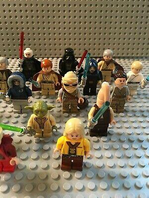 LEGO Star Wars Minifigures Lot - Jedi, Sith, Yoda, Darth Vader - You Pick! 4