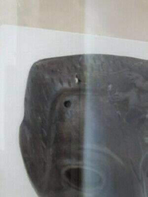 Antique Roman Greek Framed Clay Mask 5
