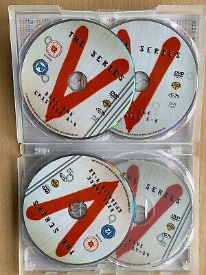 Marc Singer V Complète Série 1985 Classique Alien Sci-Fi GB DVD Coffret 3