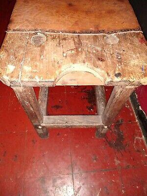 Beautiful Antique  English  Cobblers Bench 3