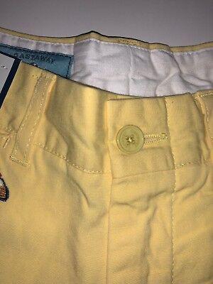 Castaway Nantucket Island Men/'s Embroidered Cars Shorts Cotton Yellow Sz 44 B35