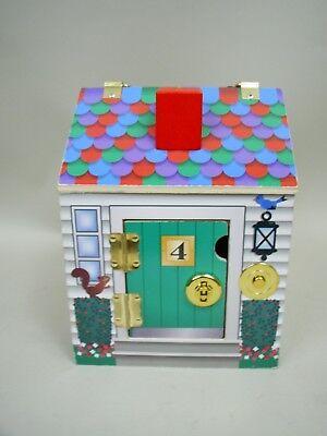 Wooden Doorbell House 2505 By Melissa Doug Not Complete