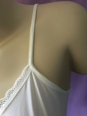 Ex Store Reversible Camisole adjustable strap & bow detail, white, black, almond