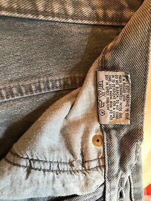 Calvin Klein Size W.28 L32 Unisex Straight Leg Grey Denim 100% Cotton Jeans 10