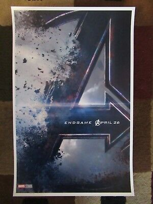"""Avengers -  Endgame ( 11"""" x 17"""" ) Movie Collector's Poster Print - B2G1F 2"""
