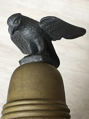Militaria Reservistenflasche Flachmann mit Adler auf Deckel Trinkbecher