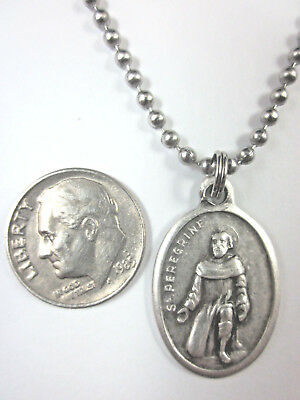 f4c14ad737d ... St Peregrine Medal Italy Pendant Necklace 24