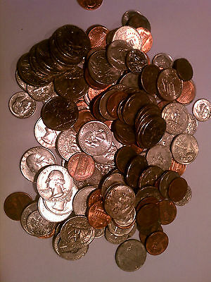 25 - Combination Pack Flat Coin Wrappers - Penny Nickel Dime Quarter - Mix MMF 2