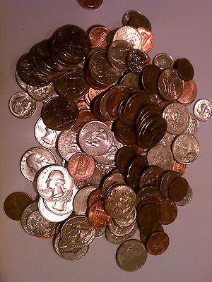 500 - Combination Pack Flat Coin Wrappers - Penny Nickel Dime Quarter - Mix MMF 2