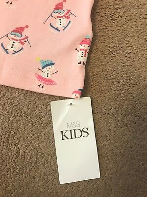 Young Girls Christmas Pyjama Top Only!! Age 2-3 Years - BNWT 4