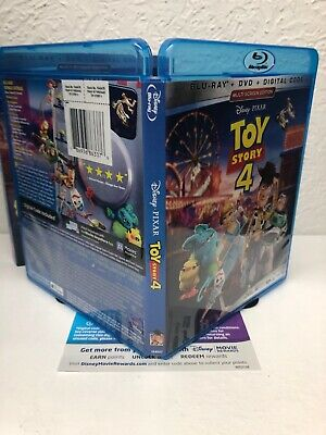 Toy Story 4 Blu-ray + Digital HD (NO DVD INCLUDED) Please Read (BEWARE OF FAKES) 3