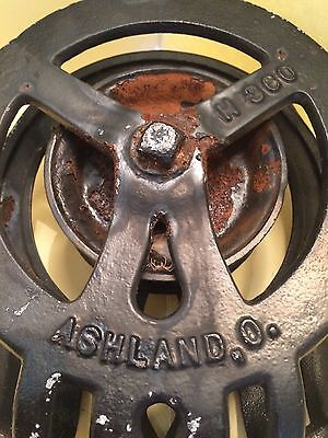 Vintage F.e. Myers & Bros. Barn Hay Pulley H360, Ashland, Ohio ~ Early, Fancy ~ 5