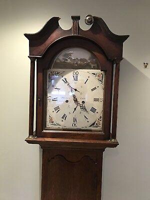 Grandfather/Clock Longcase/Scottish PT. Fenwick Crieff  18th Century 2