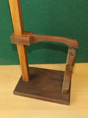 Clock movement test adjustment stand French design now bigger 4 longer pendul 5