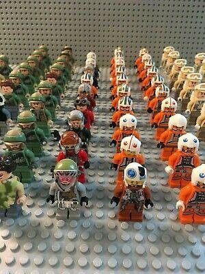 LEGO Star Wars Minifigures Lot -Rebels, Troopers, Pilots, Hoth, Endor- You Pick! 3