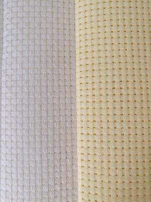Aida 6 11 14 16 18 Count Cross Stitch Fabric 100% Cotton 3