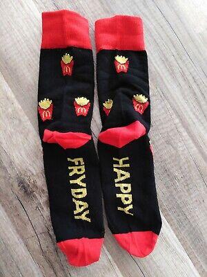 günstiger Preis Preis tolle sorten MC DONALDS POMMES Socken Happy Fryday Gr. 36-39 Neu
